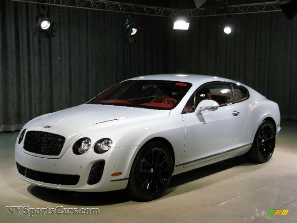 2010 bentley continental gt supersports in ice white 064049 cars for sale. Black Bedroom Furniture Sets. Home Design Ideas