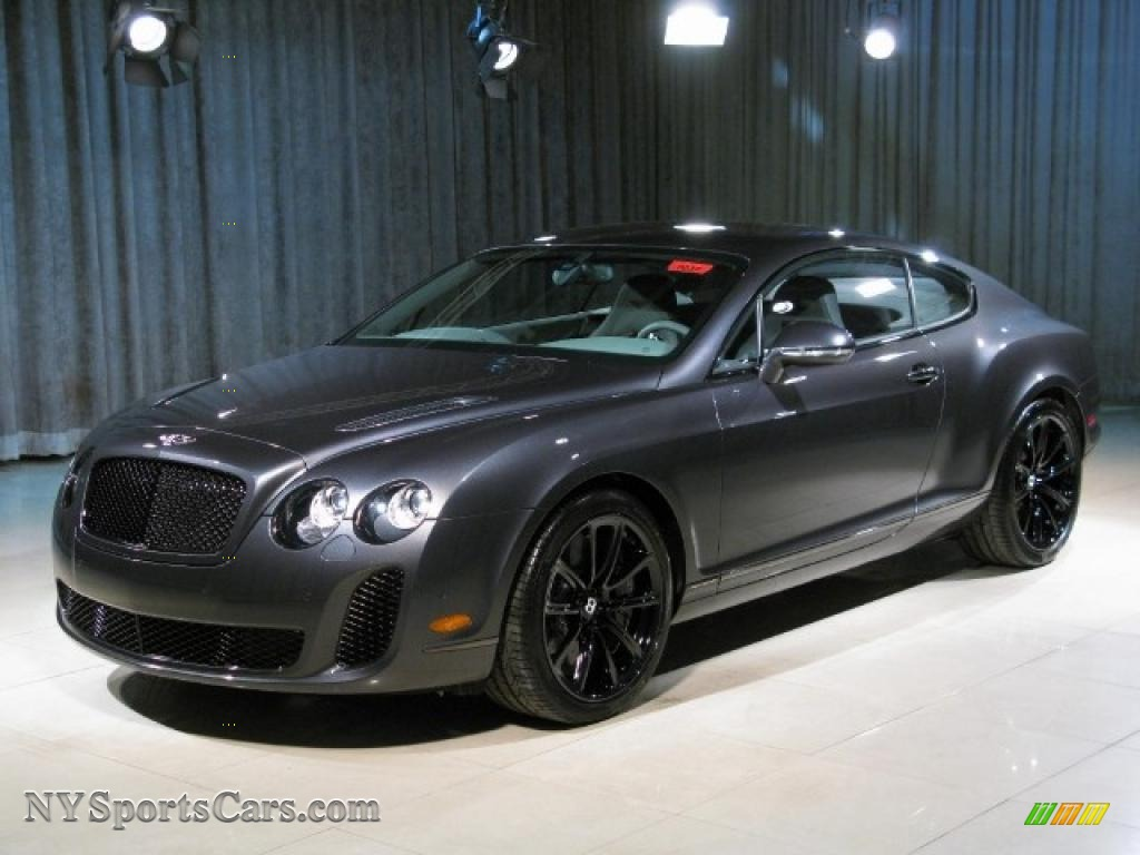 2010 Bentley Continental Gt Supersports In Anthracite 064072 Nysportscars Com Cars For
