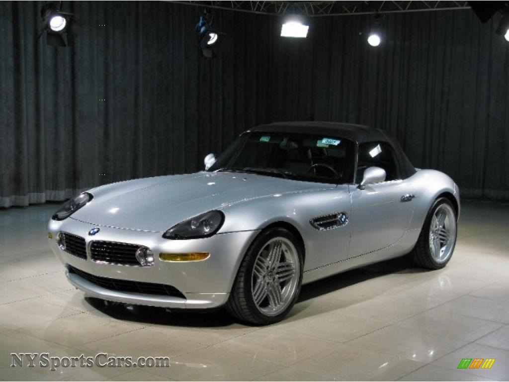 2003 Bmw Z8 Alpina Roadster In Titanium Silver Metallic