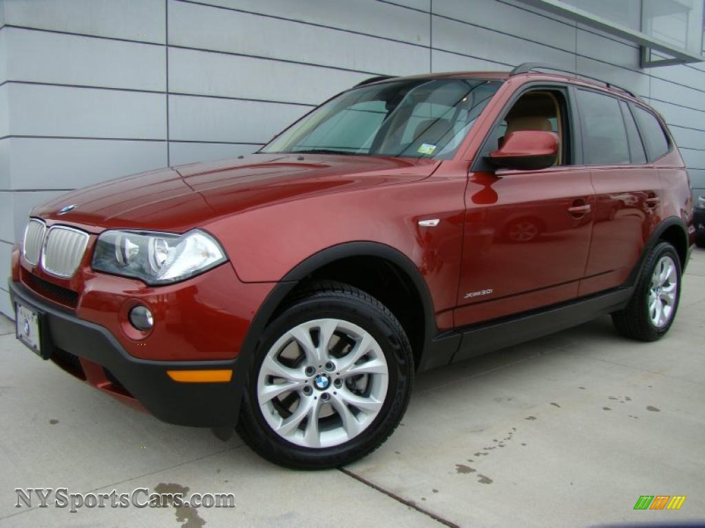 2010 bmw x3 xdrive30i in vermilion red metallic j32210 cars for sale in. Black Bedroom Furniture Sets. Home Design Ideas