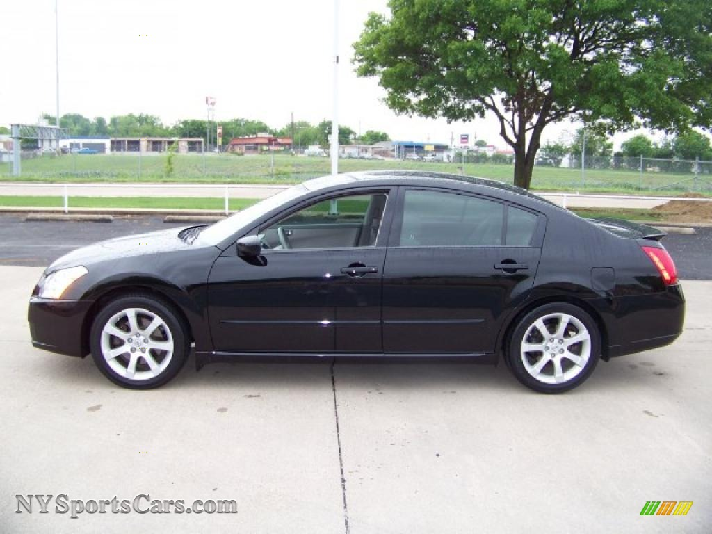 2007 nissan maxima 3 5 se in super black 835585 cars for sale in new york. Black Bedroom Furniture Sets. Home Design Ideas
