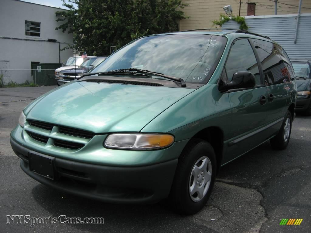 Dodge dodge 1999 caravan : 1999 Dodge Caravan in Alpine Green Pearlcoat - 178127 ...