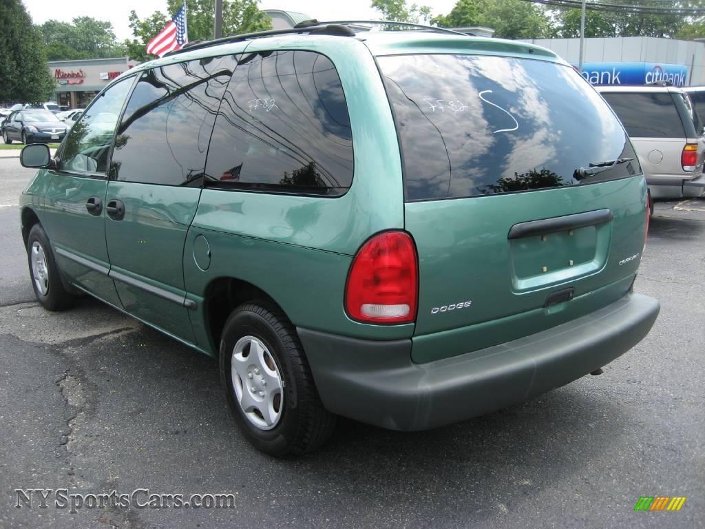 Dodge dodge 1999 caravan : 1999 Dodge Caravan in Alpine Green Pearlcoat photo #4 - 178127 ...