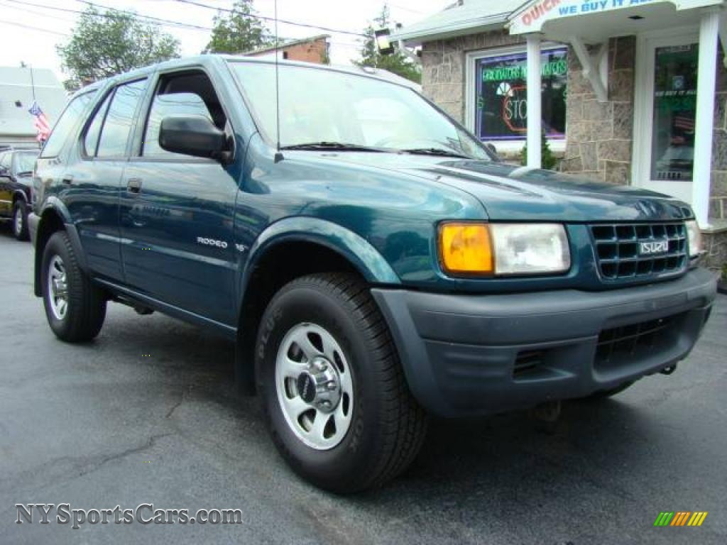 1998 isuzu rodeo s 4wd in spruce green mica pearl metallic. Black Bedroom Furniture Sets. Home Design Ideas