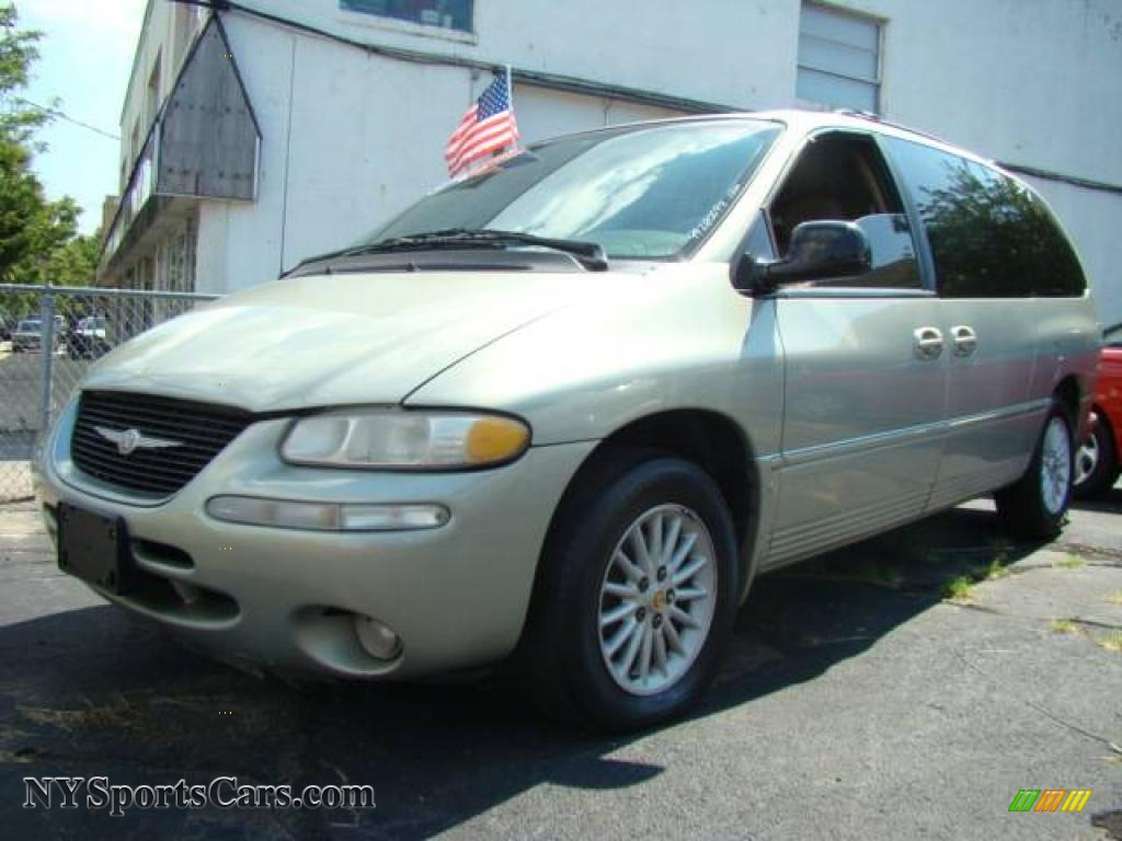 1999 chrysler town country lx in light cypress green pearl 873739 cars. Black Bedroom Furniture Sets. Home Design Ideas