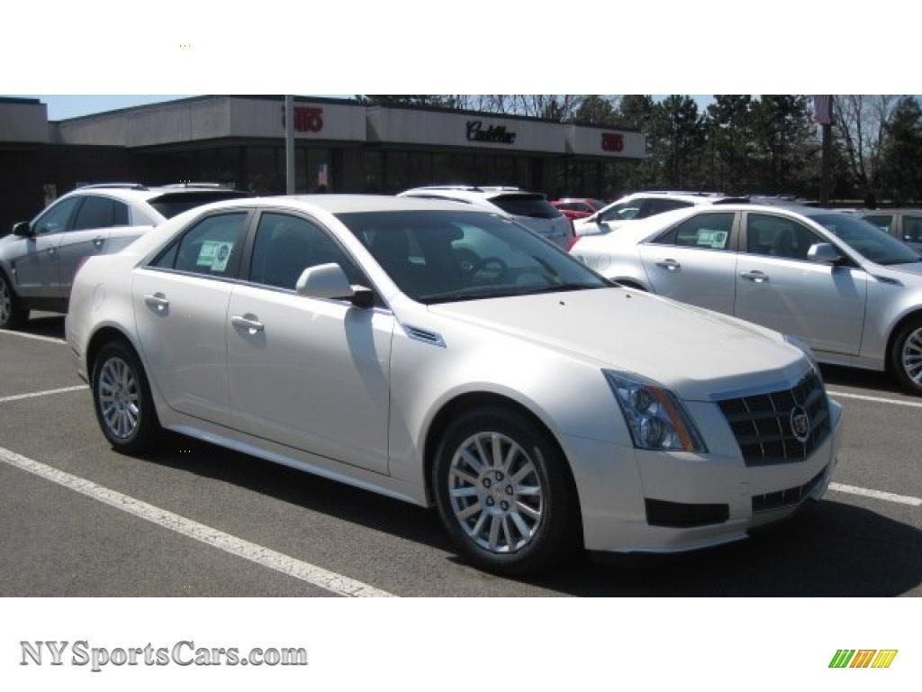 2010 Cadillac Cts 4 3 0 Awd Sedan In White Diamond Tricoat