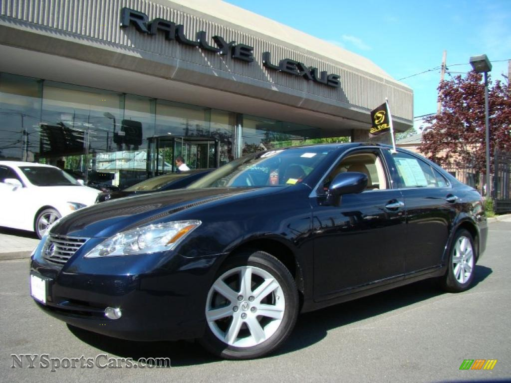 2007 lexus es 350 in blue onyx pearl photo 5 056841 cars for sale in new. Black Bedroom Furniture Sets. Home Design Ideas