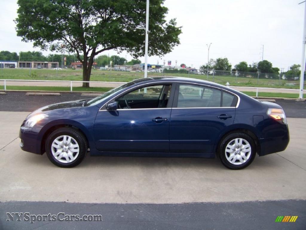 2009 Nissan Altima 2 5 S In Navy Blue Metallic 488789