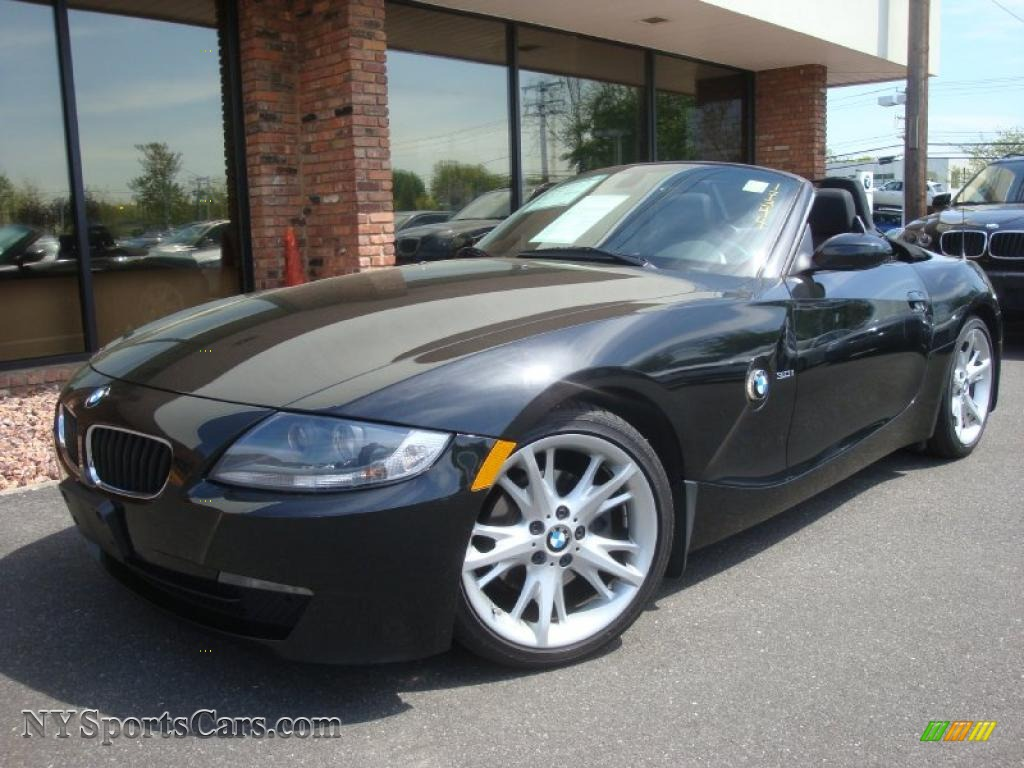 2008 Bmw Z4 3 0i Roadster In Black Sapphire Metallic