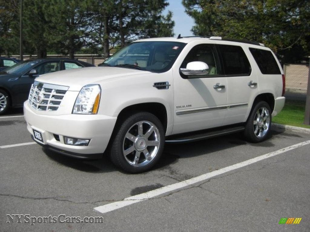 2010 Cadillac Escalade Luxury Awd In White Diamond