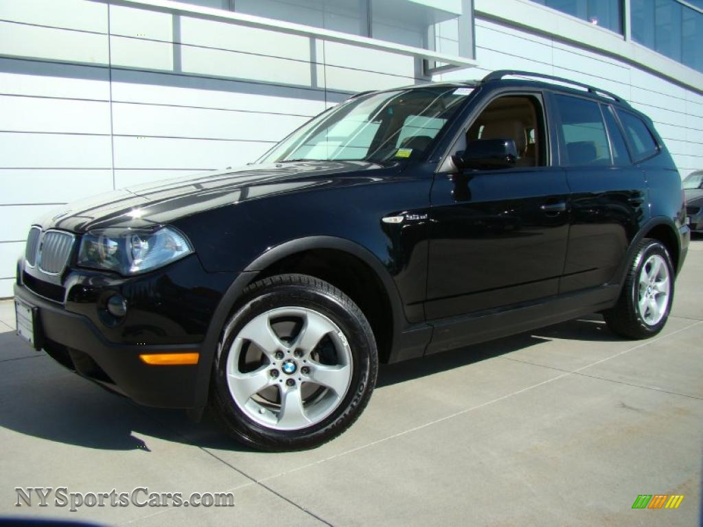 2008 bmw x3 in jet black j02404 cars for sale in new york. Black Bedroom Furniture Sets. Home Design Ideas