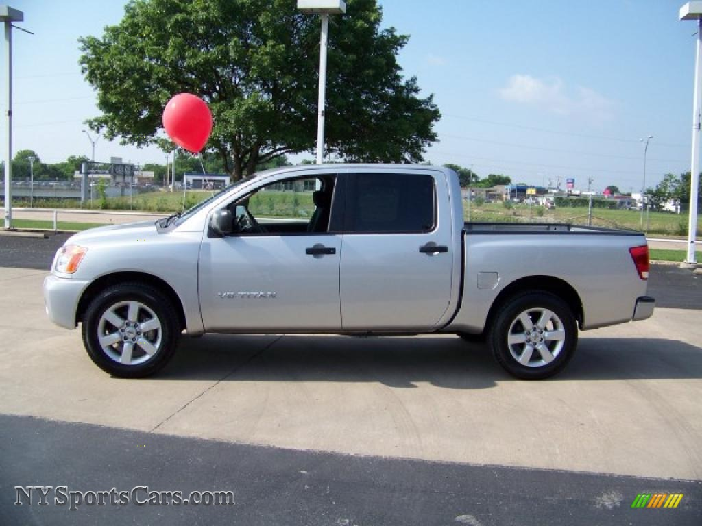 2008 nissan titan se crew cab in radiant silver 340624 2008 titan se crew cab radiant silver almond photo 1 vanachro Gallery
