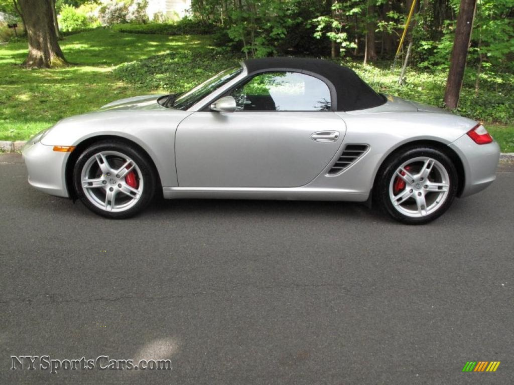 2006 Porsche Boxster S In Arctic Silver Metallic Photo 3