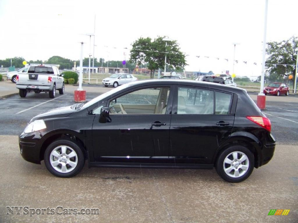 2009 Nissan Versa 1 8 Sl Hatchback In Super Black 410363