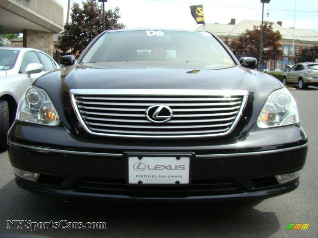 2006 lexus ls 430 in black onyx photo 2 053308 cars for sale in new york. Black Bedroom Furniture Sets. Home Design Ideas