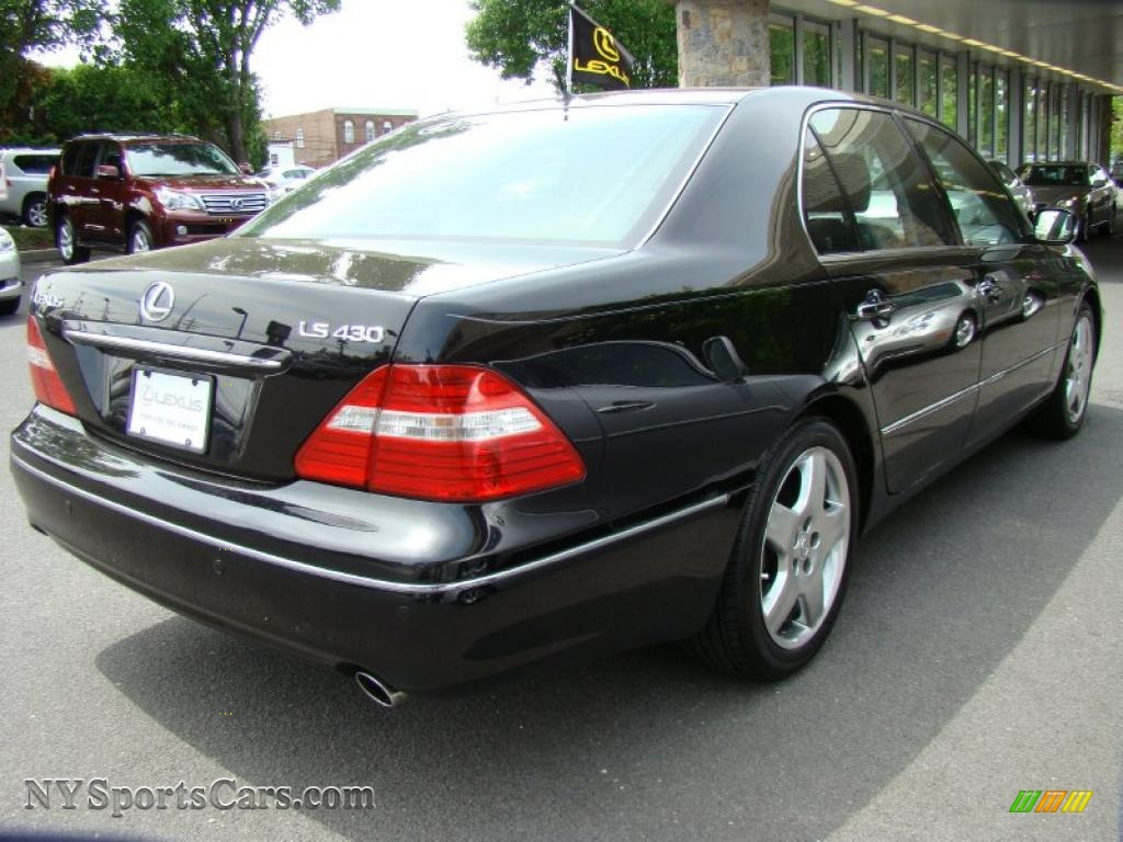 2006 lexus ls 430 in black onyx photo 5 053308 cars for sale in new york. Black Bedroom Furniture Sets. Home Design Ideas