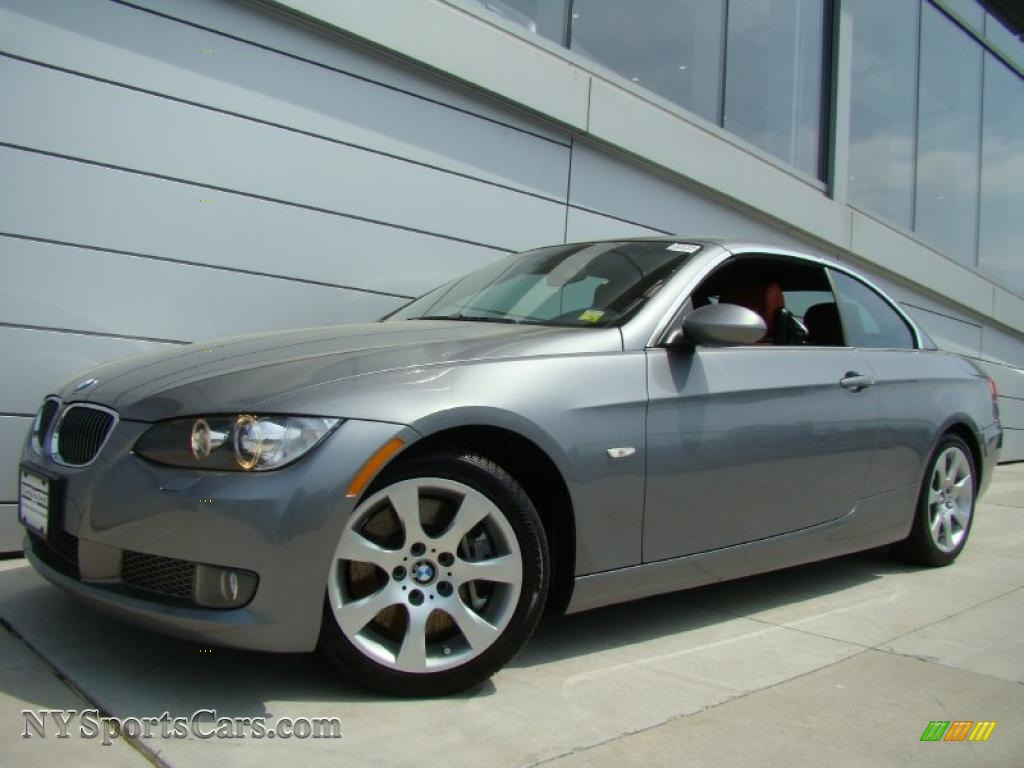 2007 Bmw 3 Series 335i Convertible In Space Gray Metallic