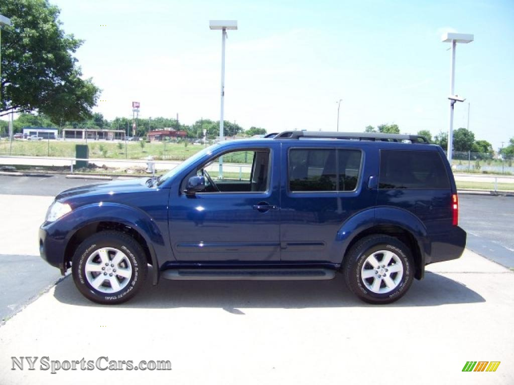 2009 Nissan Pathfinder Se 4x4 In Navy Blue 611094