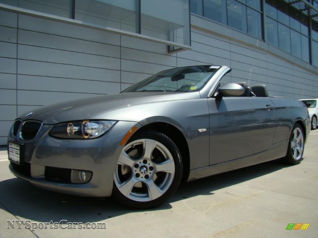 BMW Series I Convertible In Sparkling Graphite Metallic - 2007 bmw 328i convertible
