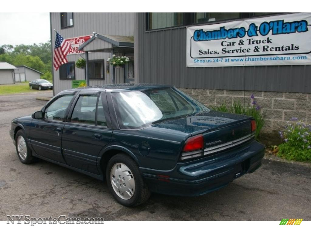 1997 oldsmobile cutlass supreme sl sedan in dark teal metallic photo 9 310765 nysportscars com cars for sale in new york nysportscars com