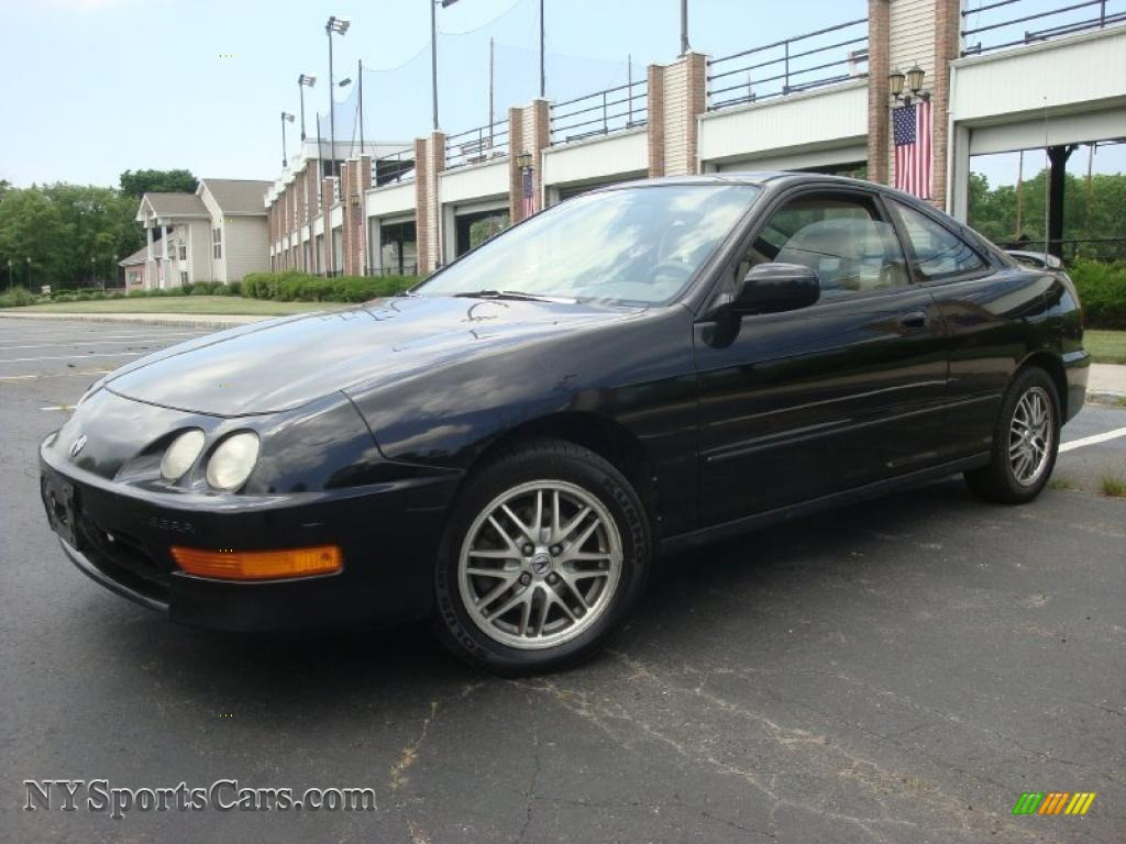 1999 acura integra ls coupe in flamenco black pearl 008768 cars for sale. Black Bedroom Furniture Sets. Home Design Ideas