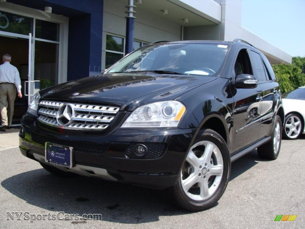 2008 mercedes benz ml 320 cdi 4matic in black 297658. Black Bedroom Furniture Sets. Home Design Ideas