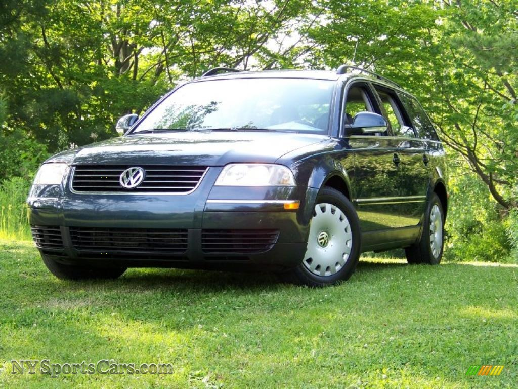 2005 volkswagen passat gl tdi wagon in shadow blue. Black Bedroom Furniture Sets. Home Design Ideas