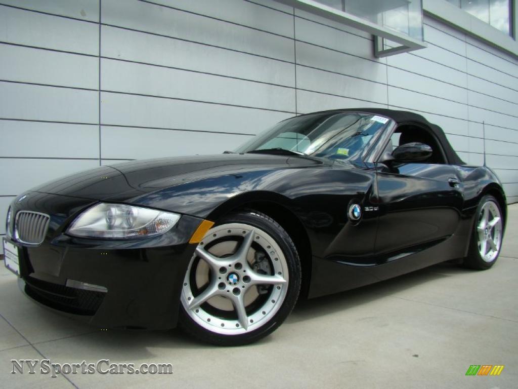 2007 Bmw Z4 3 0si Roadster In Black Sapphire Metallic
