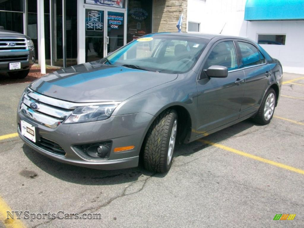 2010 Ford Fusion Se In Sterling Grey Metallic 158601 Nysportscars Com Cars For Sale In New