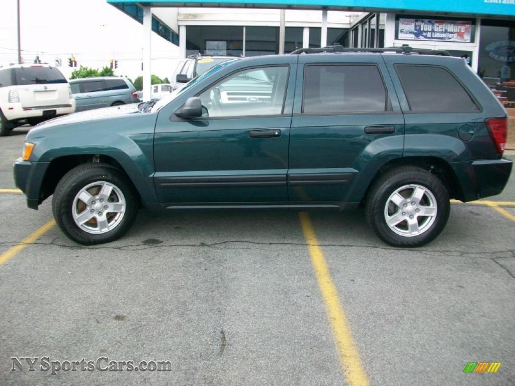 2005 jeep grand cherokee laredo 4x4 in deep beryl green - 2005 jeep grand cherokee laredo interior ...