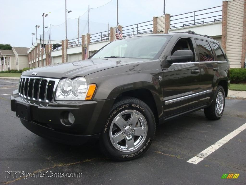 2006 jeep grand cherokee limited 4x4 in dark khaki pearl 224740 cars for. Black Bedroom Furniture Sets. Home Design Ideas