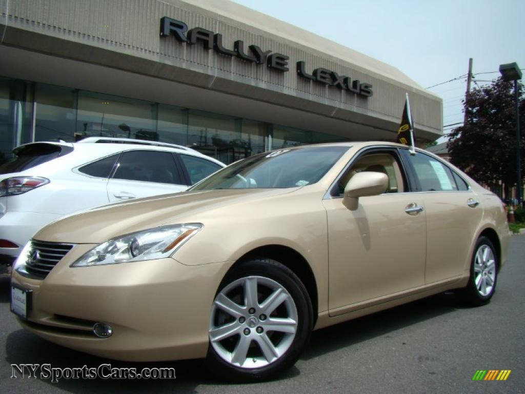 2007 lexus es 350 in golden almond metallic 117282 nysportscars. Black Bedroom Furniture Sets. Home Design Ideas