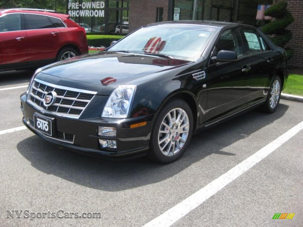 2010 Cadillac Sts 4 V6 Awd In Black Raven 134328
