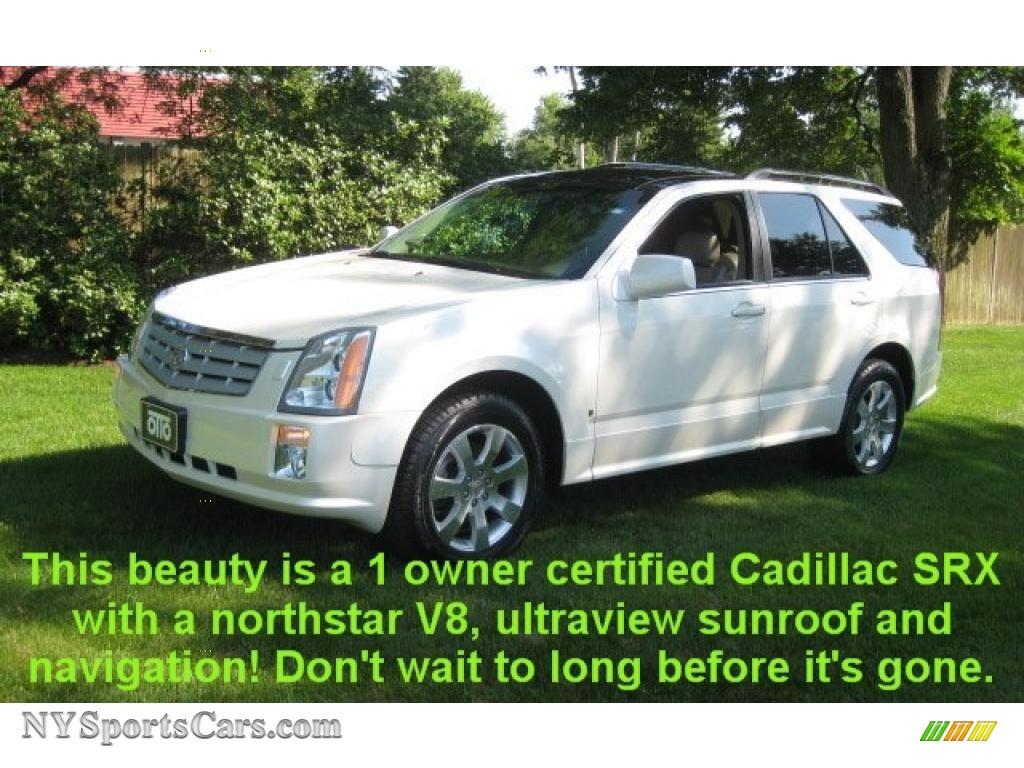 2007 Cadillac Srx 4 V8 Awd In White Diamond Photo 20