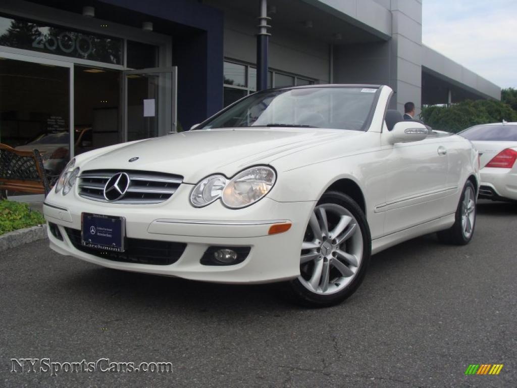 2006 mercedes benz clk 350 cabriolet in alabaster white for Mercedes benz clk350 for sale