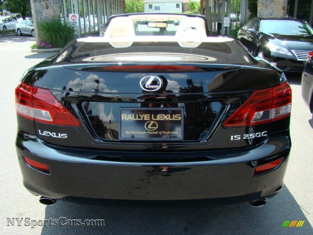 2010 lexus is 250c convertible in obsidian black photo 4 501454 cars for. Black Bedroom Furniture Sets. Home Design Ideas