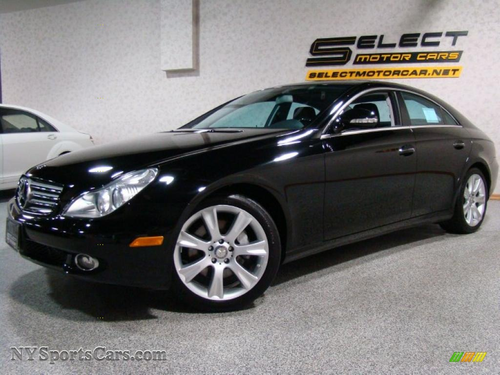2008 mercedes benz cls 550 in black 137244 for Mercedes benz cls sale