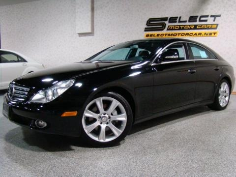 Black Mercedes-Benz CLS 550 for sale in New York. 2008 Mercedes-Benz CLS 550