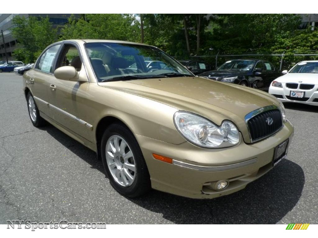 2003 hyundai sonata gls v6 in desert sand metallic. Black Bedroom Furniture Sets. Home Design Ideas