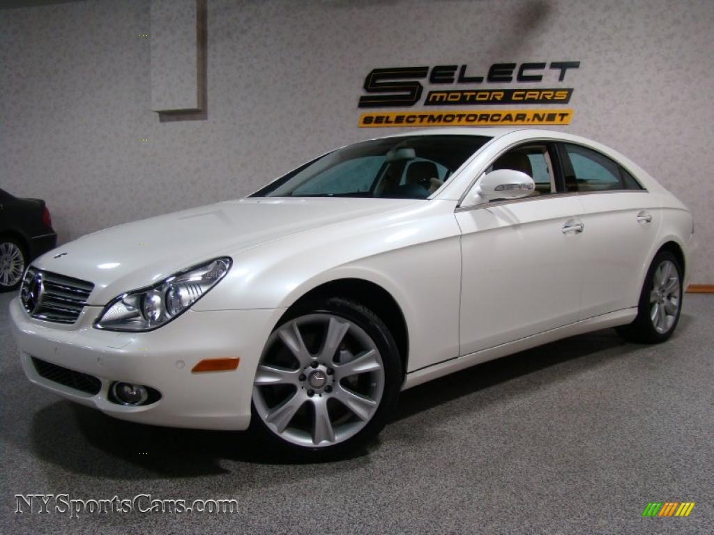 2008 mercedes benz cls 550 in diamond white metallic 125770 cars for sale. Black Bedroom Furniture Sets. Home Design Ideas