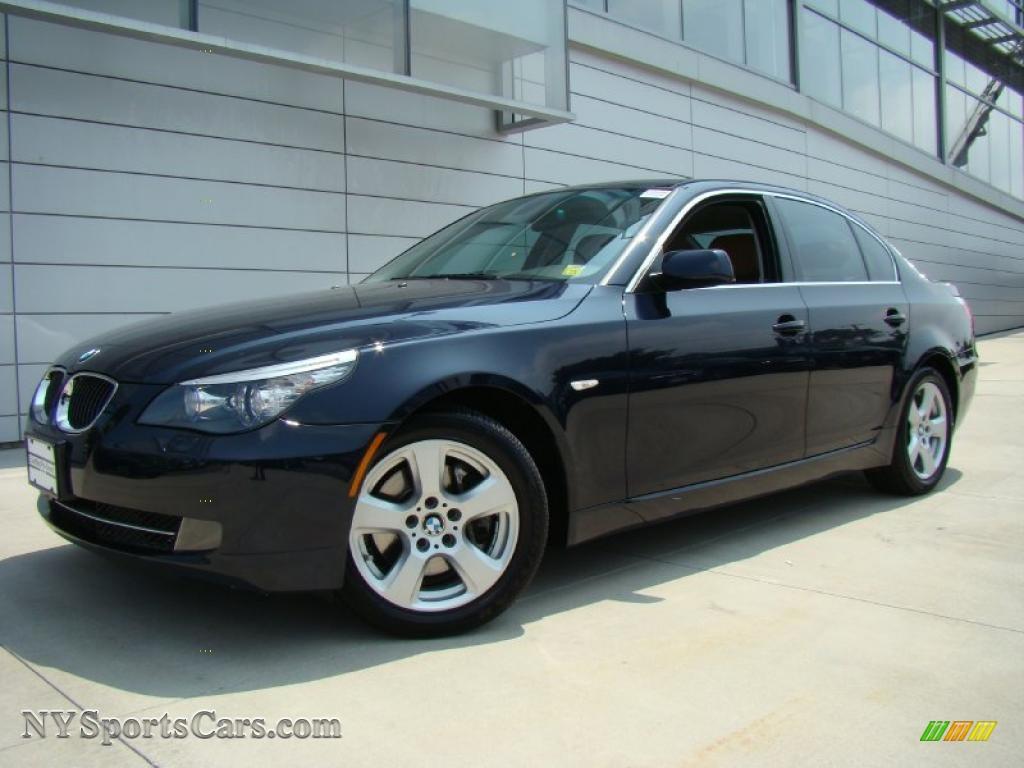 2008 bmw 5 series 535xi sedan in monaco blue metallic 130047 cars for. Black Bedroom Furniture Sets. Home Design Ideas