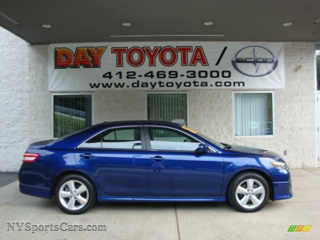 2010 Toyota Camry Se 2010 Toyota Camry Se In Blue Ribbon Metallic 513485