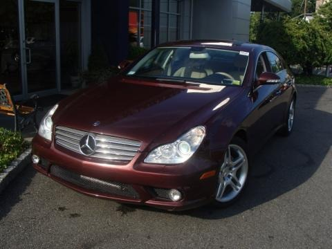 Barolo Red Metallic Mercedes-Benz CLS 550 for sale in New York