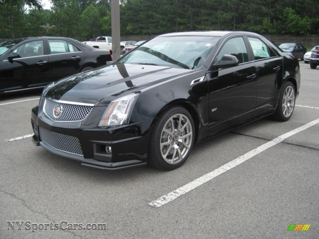 2011 cadillac cts v sedan in black raven 102924 cars for sale in new york. Black Bedroom Furniture Sets. Home Design Ideas