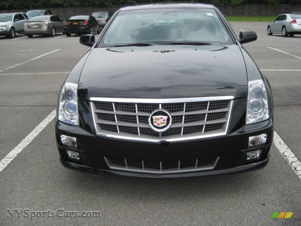2011 Cadillac Sts 4 V6 Awd Premium In Black Raven Photo 2