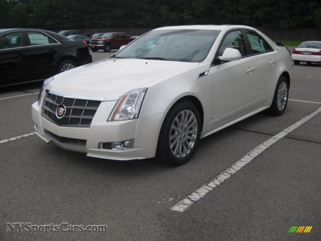 2011 Cadillac Cts 4 3 6 Awd Sedan In White Diamond Tricoat
