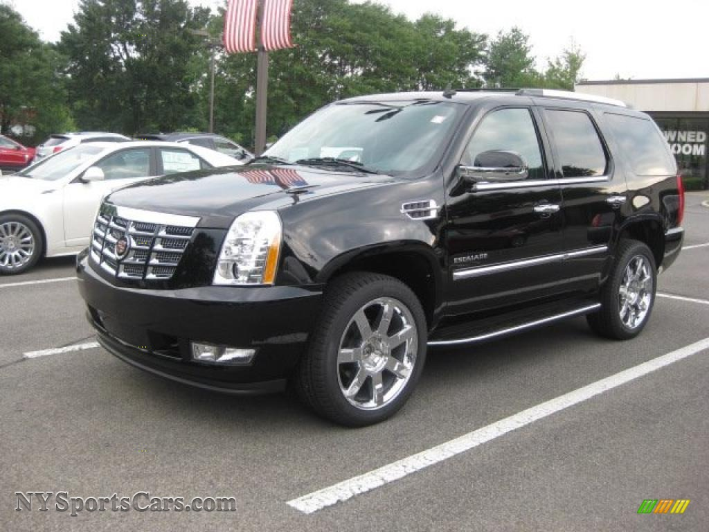 2010 Cadillac Escalade Luxury Awd In Black Raven 287659