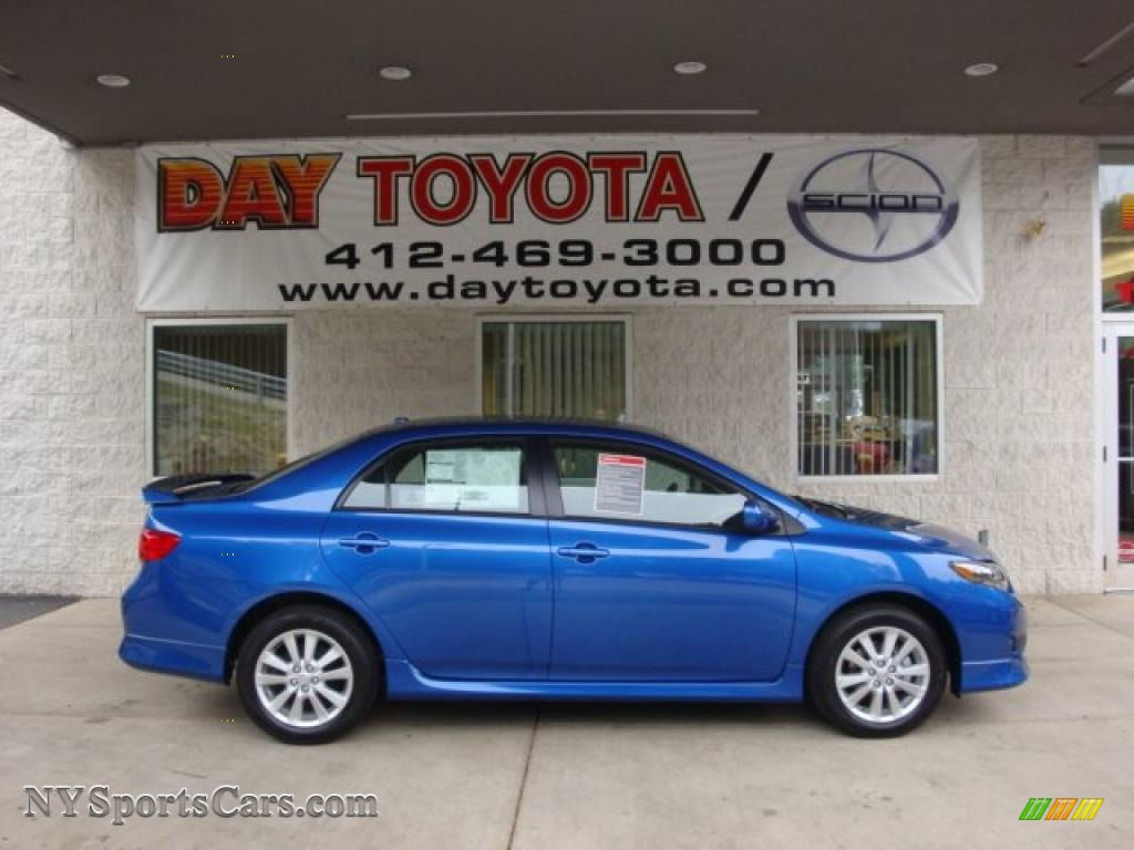 2010 Toyota Corolla S In Blue Streak Metallic 453682