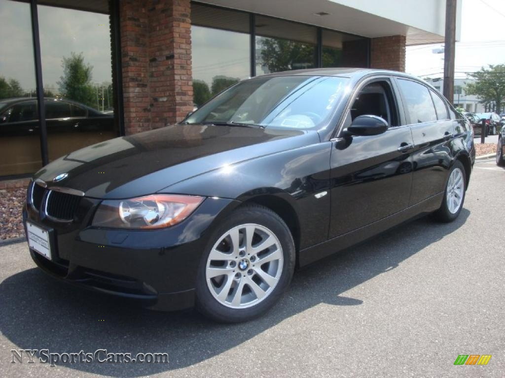 2007 bmw 3 series 328xi sedan in jet black x58618 cars for sale in new york. Black Bedroom Furniture Sets. Home Design Ideas
