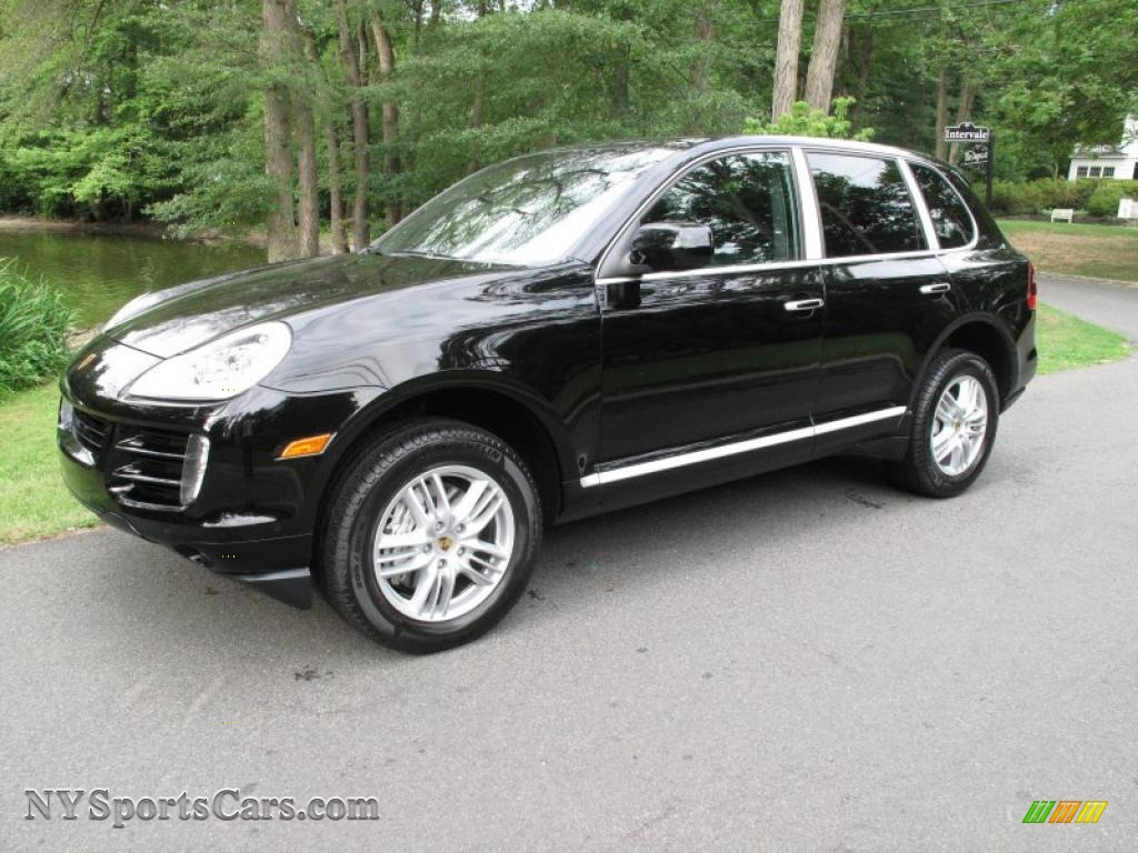 2010 porsche cayenne s in black a50734 cars for sale in new york. Black Bedroom Furniture Sets. Home Design Ideas